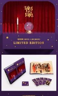 [incoming instock] Twice Yes Or Yes Monograph
