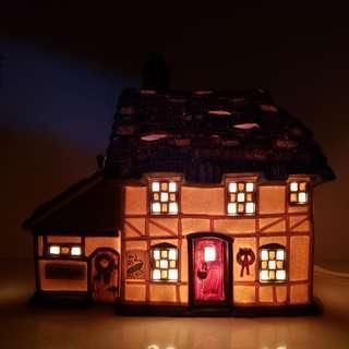 Vintage Dept 56 Mr & Mrs Pickle Dickens Village Night Light