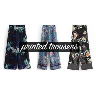 Instocks- Wide trousers