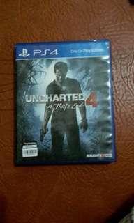 Kaset PS 4 God of War & Uncharted 4