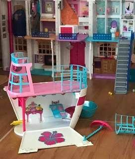 Barbie Ship