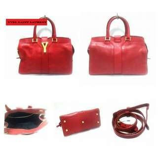 Ysl Cabas Red 2way