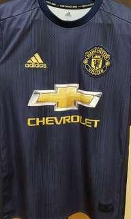 AUTHENTIC Manchester United 18/19 3rd Kit youth size L