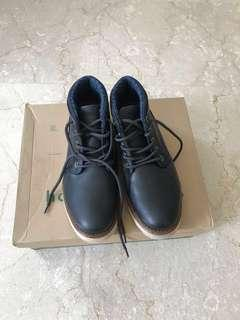 Navy Hotwind Casual Boots