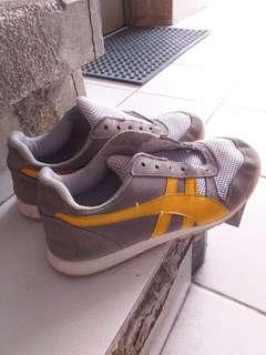Yellow and Gray shoes from Italy