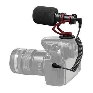 COMICA CVM-VM10 II MICRO COMPACT DIRECTIONAL CONDENSER SHOTGUN VIDEO MICROPHONE