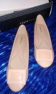 "FLAT SHOES ""STYLEHAUS FLAT SHOES color apricot"