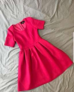 Doublewoot Fuschia Dress