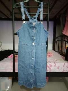Denim Jumpsuit dress (surplus)