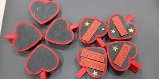 Heart Shaped / Love Chalkboard