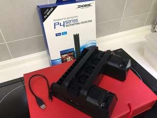 [PS4] DOBE Multifunctional Cooling Stand for PS4, PS4 Slim and PS4 Pro