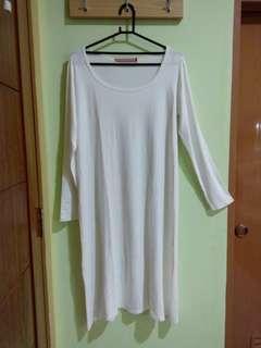 White Long Shirt - Hardware