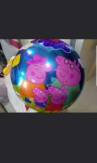 Peppa pig birthday party stuffs