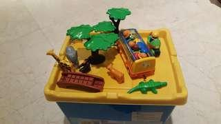 Bus safari / moto playmobile