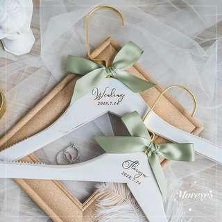 Customized Bridal Hangers / Wedding Hangers