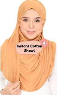 Instant Cotton Shawl