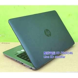 🚚 全新電池 全新120SSD 天M模擬器多開 HP 840G1 i7-4600U 8G 14吋筆電 聖發二手筆電