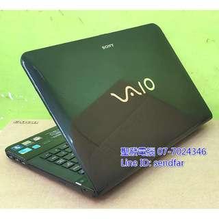 🚚 日系高效獨顯遊戲 SONY VPCEA17FW i5-520M 4G 500G 獨顯 DVD 14吋筆電 聖發二手筆電