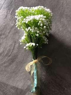 新娘花球-滿天星花花束