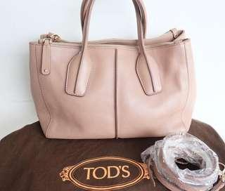 Authentic preloved tods bag