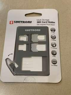 旅行必備 Lifetrons sim card holder