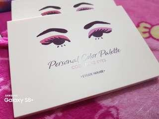 Etude Personal eyeshadow pallete cool tones