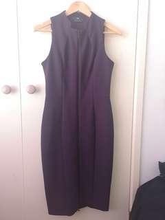 New Cue Burgendy dress 8