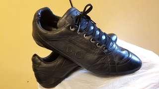 真軟皮運動型休閒鞋