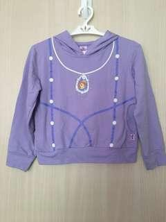 Little girls' sweater with hood
