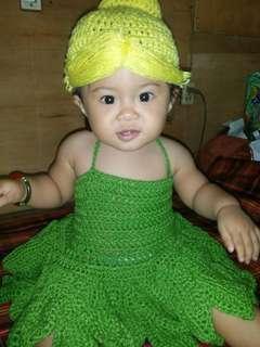 Tinkerbell Crochet Dress