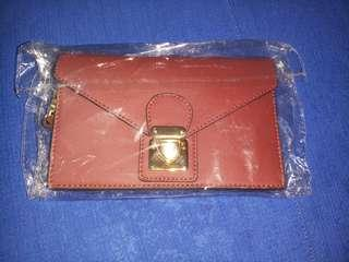 Leather wristlet from US