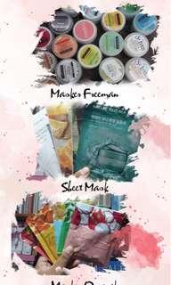 Masker freeman, Organik, sheet mask