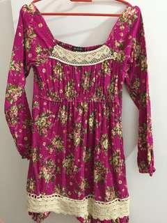 N.O.T off shoulder dress (bought in Japan)