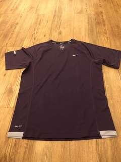 NIKE - (M) Nike Running Dri-fit Tshirt/ Purple