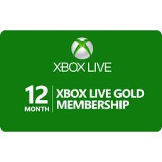 Xbox Live Gold Membership 12 month (Global)