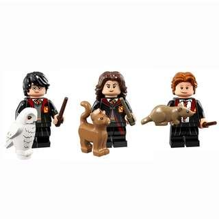 LEGO Harry Potter Minifigures 71022 - Harry, Hermione & Ron (Set of 3)