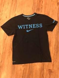 NIKE - (M) Witness Lebron James T Shirt / Black