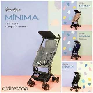 Cocolatte MINIMA newborn cabin size