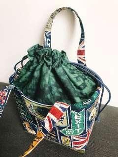 🚚 保冷保溫束口便當袋/餐具袋/多功能手提袋