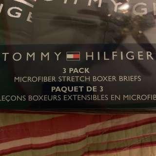 B NEW TOMMY HILFIGER BOXER BRIEFS UNDERWEAR