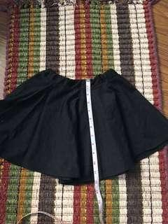 blowing bubbles black skirt for 4-7 yrs old girl