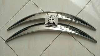 Wheel Arch Chrome