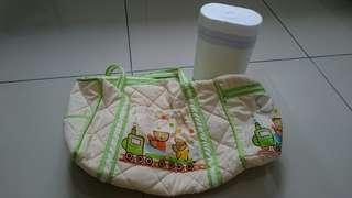 #APR75 Pigeon Diaper Bag