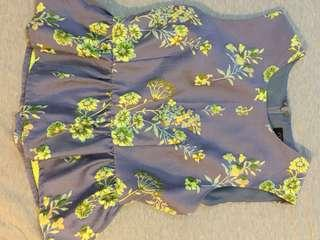 *Love Bonito peplum floral top