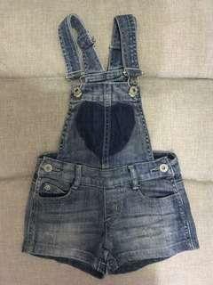 Overall jeans (baju kodok jeans)