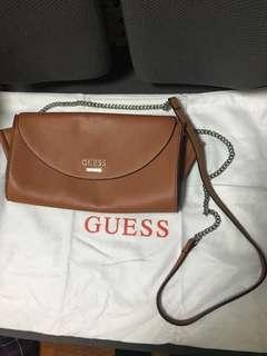 🈹 Guess 經典啡色斜孭袋 brown crossbody bag