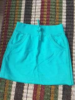 Blue/Green skirts by esprit (116/122 6-7)
