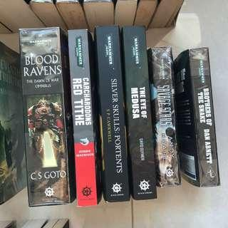Iron Hands, White Scars, Iron Snakes, Blood Ravens, Silver Skulls and Carcharodons: Warhammer 40k Books & Novels - Space Marines
