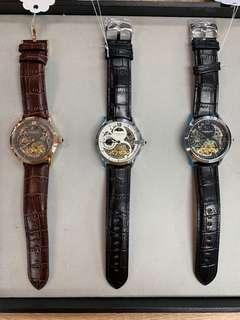 全新 classic dual time Stuhrling 自動手錶