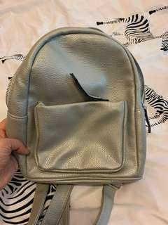 New Look Mini Backpack - Silver